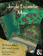 Assorted Jungle Encounter Maps