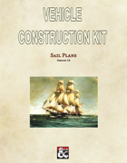 Vehicle Construction Kit: Sail Plans