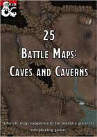 Battlemaps: Caves and Caverns