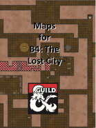 B4 The Lost City - Maps