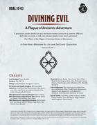 DDAL10-03 Divining Evil