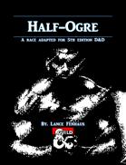 Half-Ogre Race