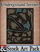 Underground Stream - Stock Art Map