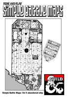 Print and play combat maps vol Five