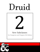 2 New Druid Subclasses: Circle of Crystals & Circle of Spirits