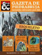 Gazeta de PiedraBruja: Esqueleto - Nueva Raza jugable para D&D 5e español