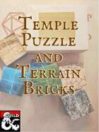 Temple Puzzle and Terrain Bricks
