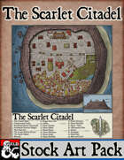 Elven Tower - The Scarlet Citadel | Stock City Map