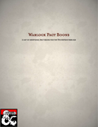 Warlock Pact Boons