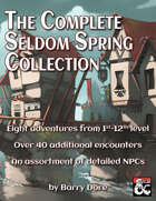 The Complete Seldom Spring Collection [BUNDLE]
