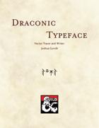 Draconic Typeface