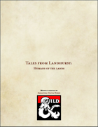 Tales of Landhurst: the Humans of the land