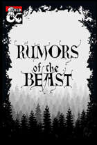 Rumors of the Beast