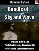 Bundle of Sky and Wave - Random Tables [BUNDLE]