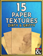 15 Paper Textures - Gritty & Dirty