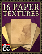 16 Paper Textures w/ Stained Variants