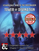 Ythryn Expanded Tower of Divination - maps and extra content for Rime of the Frostmaiden