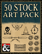 Stock Art Asset Pack - Stamps and Seals - Hand Drawn Style