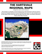 The Hartsvale - High Resolution Regional Maps