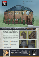 Eberron Realty Company: Factory Warehouse Battle Map