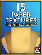 15 Paper Textures - Stained & Gritty