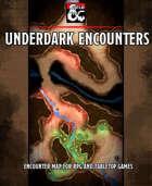 Underdark encounters battlemap