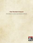The Prophet Domain