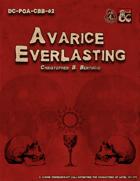 DC-PoA-CBB-02 : Avarice Everlasting