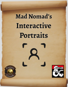 Mad Nomad's Interactive Portraits for FG 5E