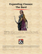 Expanding Classes (The Bard)