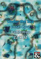 Under the Sea - Coral Cave Map