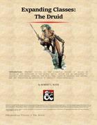 Expanding Classes (The Druid)