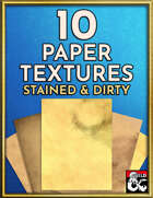 10 Paper Textures - Stained and Dirty