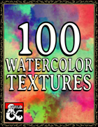 100 Watercolor Textures - Splashes, Stains, and Spills for Layouts!