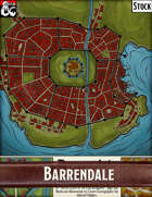 Elven Tower - Barrendale | Stock City Map