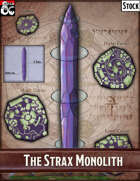 Elven Tower - The Strax Monolith | Stock City Map