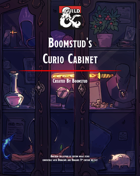 Boomstud's Curio Cabinet