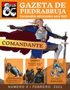 Gazeta de PiedraBruja: Comandante -Nueva Clases de Personaje Jugador para Dungeons and Dragons  5e en Español