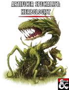 Artificer Specialist: Herbologist