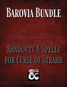 Barovia Bundle: Handouts & Spells for Curse of Strahd [BUNDLE]