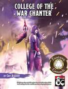 War Chanter A College for Bards (Fantasy Grounds)