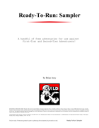 Ready-to-Run: Sampler