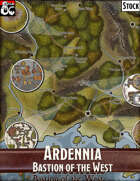 Elven Tower - Ardennia Bastion of the West | Stock City Map