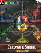 Elven Tower - Chromatic Shrine | 39x33 Stock Battlemap