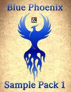 Blue Phoenix RPG Sample Map Pack 1
