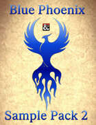 Blue Phoenix RPG Sample Map Pack 2