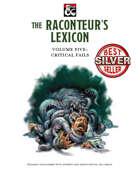 The Raconteur's Lexicon Volume 5: Critical Fails
