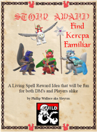 Story Award - Find Kercpa Familiar
