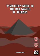 Vysianter's Guide to the Red Wastes of Avernus