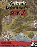 Ardennia, Bastion of the West - Stock Maps Bundle [BUNDLE]
